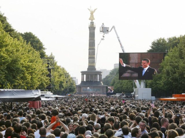 Obama Victory Column (Sebastian Willnow / AFP / Getty)