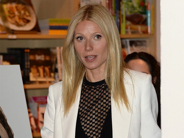 BEVERLY HILLS, CA - APRIL 05: Actress Gwyneth Paltrow signs her new book 'It's All Good: Delicious, Easy Recipes That Will Make You Look Good and Feel Great' at Williams-Sonoma on April 5, 2013 in Beverly Hills, California. (Photo by Jason Merritt/Getty Images)
