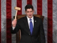 Paul Ryan gavel farewell (Mark WIlson / Getty)