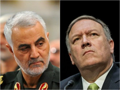 Qasem Soleimani and Mike Pompeo