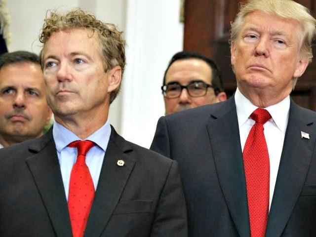 Rand Paul, Donald Trump