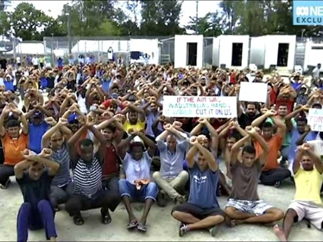 Refugee Detention centers on Manus Island
