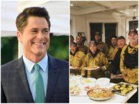 Rob Lower Firefighter Dinner Getty/Instagram