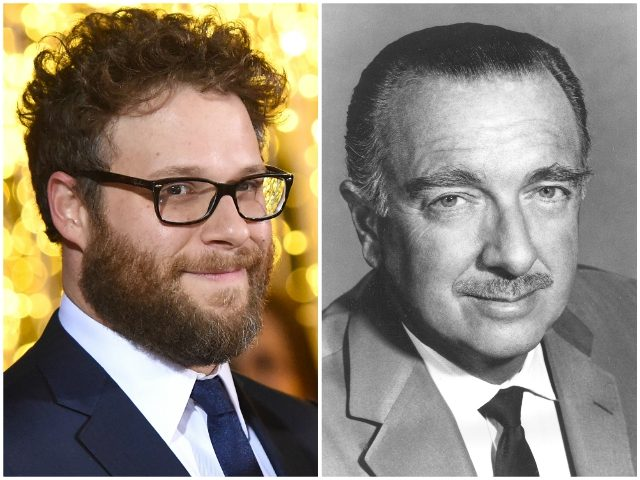 Seth Rogen to play Walter Cronkite in JFK assassination drama 'Newsflash'