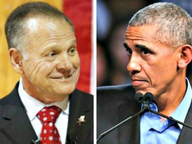 Roy Moore Split Barack Obama