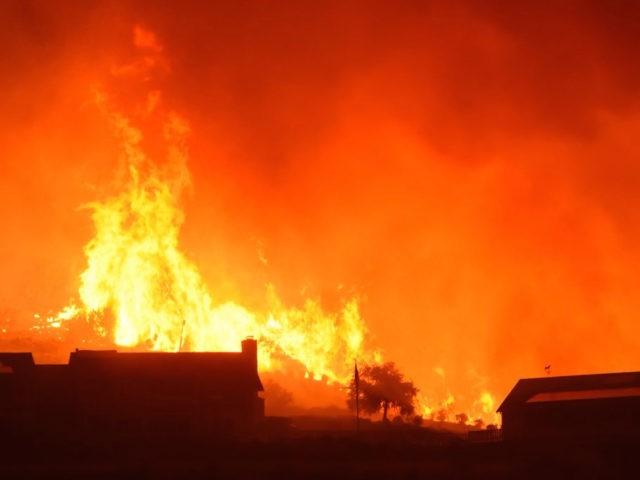 Santa Barbara fires (@SBCFireInfo / Twitter)