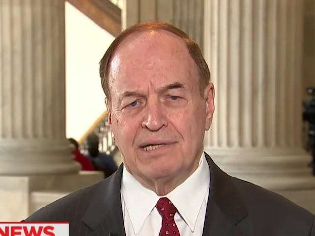 "Sunday on CNN's ""State of the Union,"" Sen. Richard Shelby, (R-AL)"