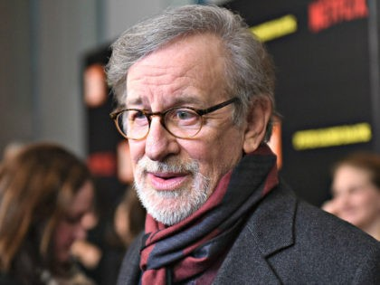 Steven Spielberg attends the 'Five Came Back' world premiere at Alice Tully Hall at Lincoln Center on March 27, 2017 in New York City. (Photo by Mike Coppola/Getty Images)