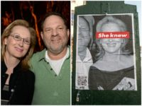 Streep Weinstein She Knew Posters AP/Twitter
