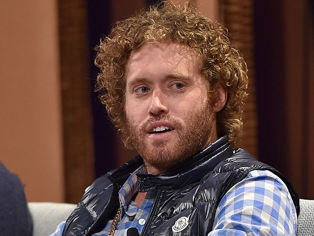 SAN FRANCISCO, CA - OCTOBER 06: Actor T. J. Miller speaks onstage during 'Silicon Valley Vs. Silicon Valley—Inside HBO's Hit Show' at the Vanity Fair New Establishment Summit at Yerba Buena Center for the Arts on October 6, 2015 in San Francisco, California. (Photo by Mike Windle/Getty Images for Vanity …