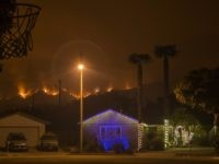 Thomas fire Christmas (David McNew / Getty)