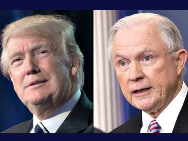Trump, Jeff Sessions feud on Twitter