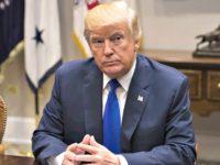 Donald Trump at Desk
