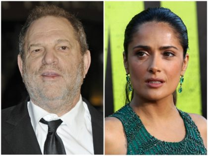 Harvey Weinstein 'Does Not Recall' Forcing Salma Hayek to Film Lesbian Sex Scene for 'Frida'