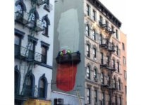 It Went Up, Then Down: Giant Penis Mural in New York Has No Staying Power