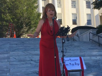Drag Queen and Transgender Activist Lead Rally Against Roy Moore