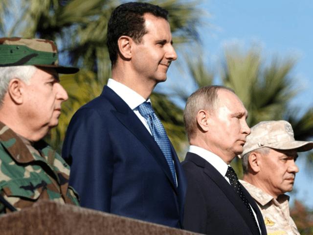 Russian President Vladimir Putin held talks with President Bashar al-Assad during his first visit to Syria