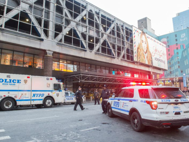 The explosion took place in the subway station at the Port Authority bus terminal, not far from New York's iconic Times Square, sparking commuter panic and travel disruptions