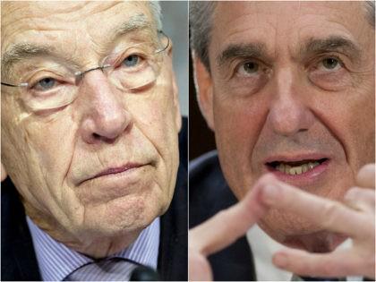 Chuck Grassley and Robert Mueller