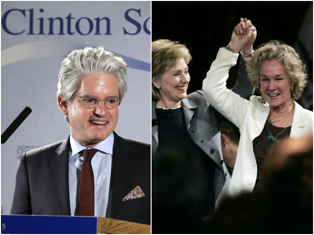David Brock and Susie Tompkins Buell
