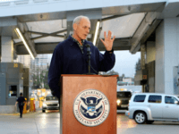 "Secretary of Homeland Security John Kelly, speaking with reporters during a press conference in February, said he renewed a DHS bulletin ""after careful consideration of the current threat environment and input from intelligence and law enforcement partners."" Photo by Howard Shen/UPI"