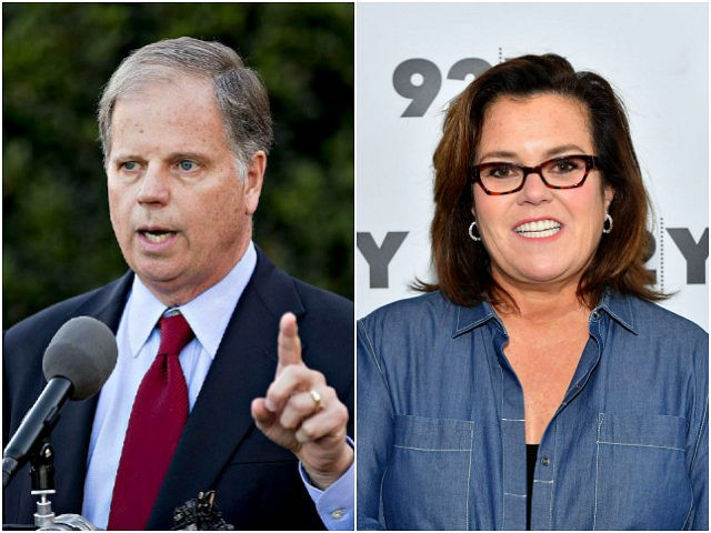 Doug Jones and Rosie O'Donnell