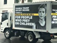 Ivanka Billboard on Truck