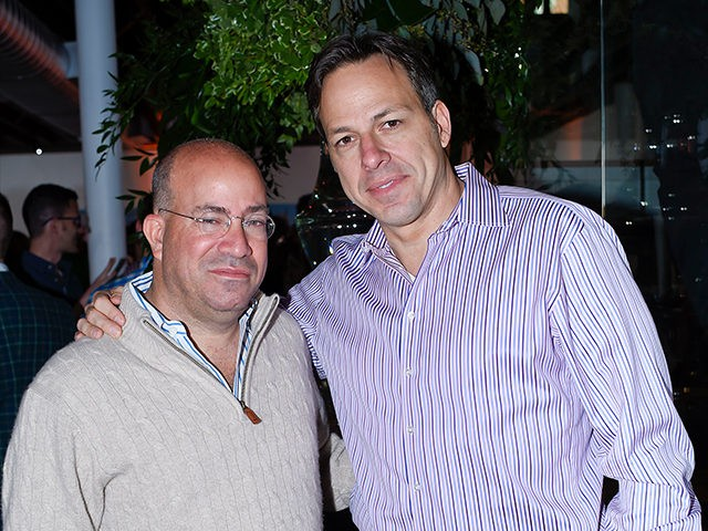 WASHINGTON, DC - APRIL 26: Jeff Zucker and Jake Tapper attend the CNN Correspondents' Brunch at Toolbox Studio on April 26, 2015 in Washington, DC. (Photo by Riccardo S. Savi/Getty Images)