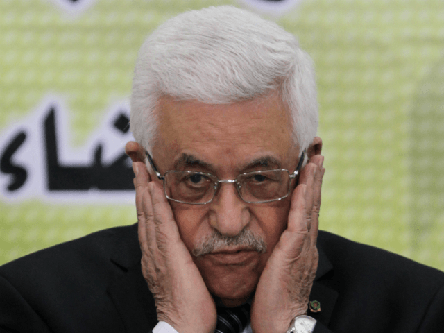 PALESTINIAN-POLITICS Palestinian Authority President and head of the Fatah movement, Mahmud Abbas attends a Fatah 'Revolutionary Council' meeting in the Palestinian West Bank city of Ramallah on September 1, 2013. AFP PHOTO/ABBAS MOMANI (Photo credit should read ABBAS MOMANI/AFP/Getty Images)