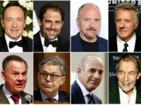 "This combination photo shows, top row from left, Kevin Spacey, Brett Ratner, Louis C.K., Distin Hoffman, and bottom row from left, former Alabama Senate candidate Roy Moore, Sen. Al Franken, D-Minn., former ""Today"" morning co-host Matt Lauer and former ""CBS This Morning"" co-host Charlie Rose, all of whom have been …"