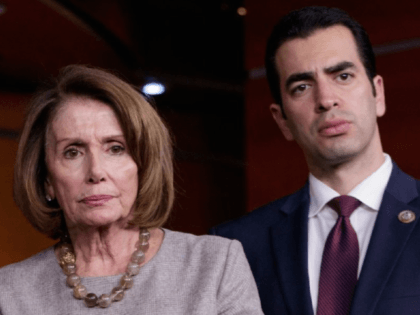 House Minority Leader Nancy Pelosi, D-Calif., has called on Rep. Ruben Kihuen, D-Nev., to step down after sexual misconduct allegations lodged against the Nevada congressman went public. Kihuen has apologized for his actions, but has not said he will resign. (AP Photo/J. Scott Applewhite)