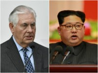 US Secretary of State Rex Tillerson and North Korea leader Kim Jong-un