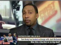 In response to New England Patriots quarterback Tom Brady being …
