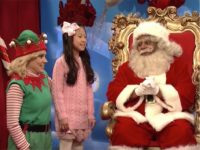 'Santa' Fields Questions About Franken, Roy Moore, Trump in SNL Cold Open