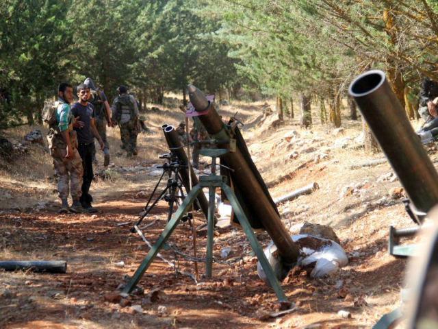 Conflict Armament Research, a British-based organization, said Thursday some U.S.-furnished weapons meant for Syrian rebels ended up with the Islamic State terror group. Photo by Omar Haj Kadour/ UPI