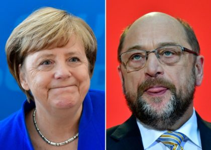 Martin Schulz's SDP has been under pressure to form an alliance with German Chancellor Angela Merkel's coalition and head off another election