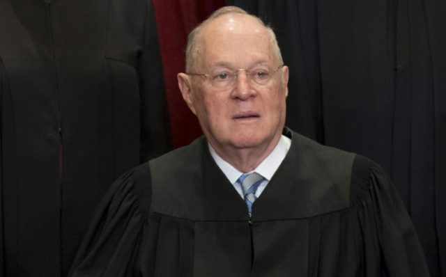 "Eighty-one-year-old Anthony Kennedy, who was appointed by Republican president Ronald Reagan in 1987 and is the court's longest serving judge, is widely expected to provide the decisive vote in the so-called ""gay wedding cake"" case"