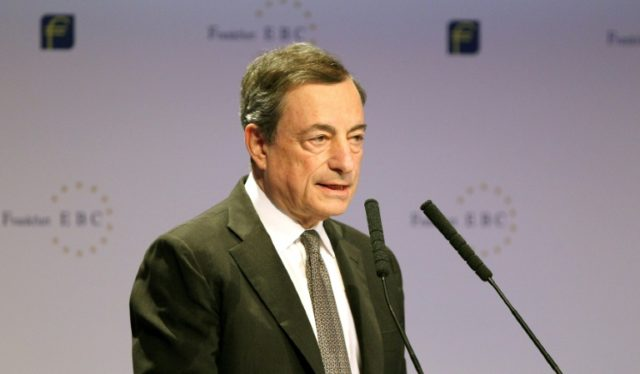 """President of the European Central Bank (ECB) Mario Draghi said the so-called """"Basel III"""" reforms will improve confidence in banking systems"""