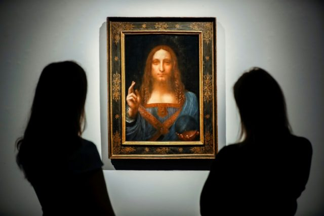 """Salvator Mundi,"" which was sold at auction for a record $450 million, is one of fewer than 20 paintings generally accepted as being from Leonardo Da Vinci's own hand"