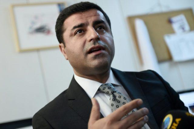 Turkish pro-Kurdish opposition leader Selahattin Demirtas has spent more than a year behind bars