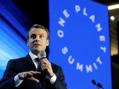 French President Emmanuel Macron will meet with world leaders on Tuesday, two years to the day since 195 nations adopted the climate-rescue Paris Agreement