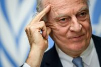 Despite eight rounds of talks, UN envoy Staffan de Mistura has been unable to get Syria's delegation and opposition leaders to sit down face-to-face