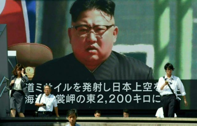 North Korea looms large over the Japanese budget