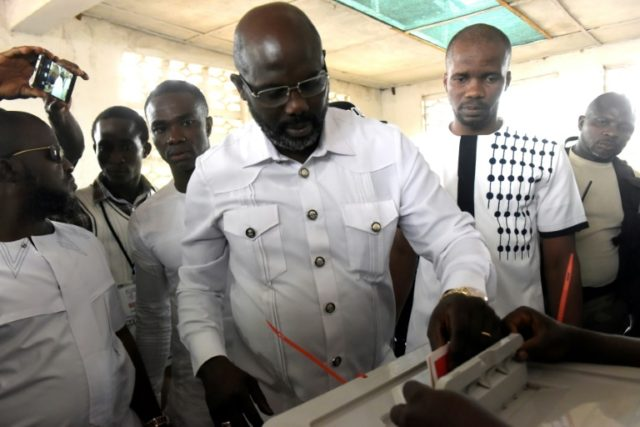 Football icon George Weah has won an insurmountable 61.5 percent in the Liberian presidential run-off