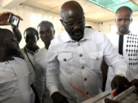 Football icon George Weah has won an insurmountable 61.5 percent in the Liberian presidential run-off