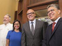 Roy Chaderton, Delcy Rodriguez, Jorge Rodriguez, Elias Jaua