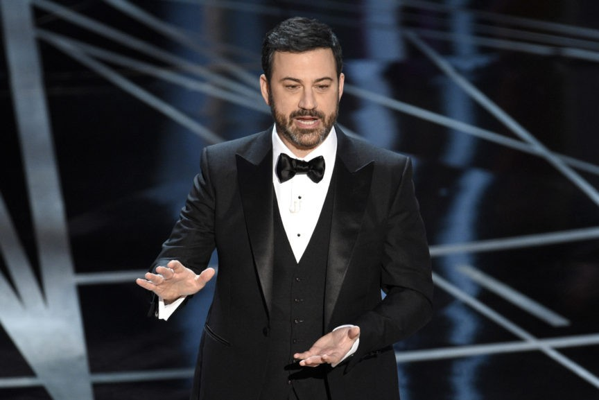 Oscars host Jimmy Kimmel promises 'big unscripted surprise'