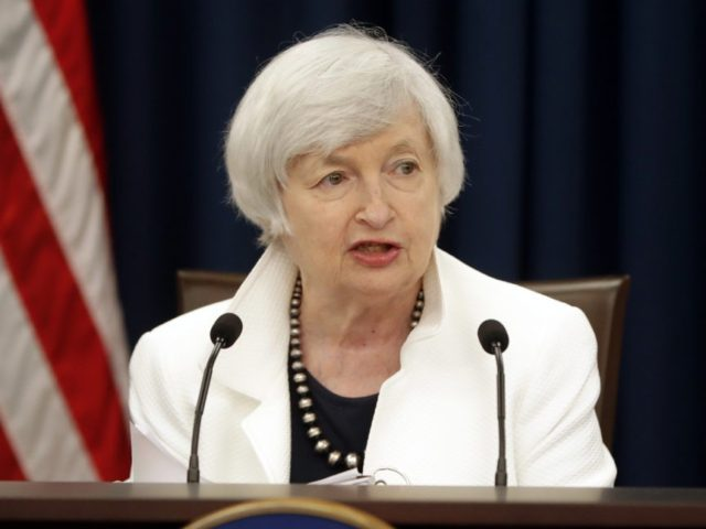 FILE - In this Wednesday, Sept. 20, 2017, file photo, Federal Reserve Chair Janet Yellen speaks at a news conference following the Federal Open Market Committee meeting in Washington. On the day when Yellen will hold her final news conference as Federal Reserve chair, the Fed has left little doubt …