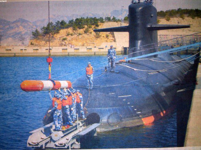 The Type 093B SSN is China's newest nuclear attack submarine. Stealthy and fast, it can quickly fire a barrage of vertically launched cruise missiles at unsuspecting ships and land targets.