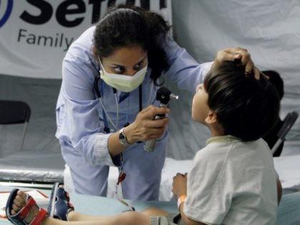 Flu screening in Texas